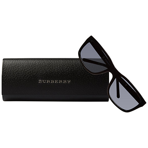 Buy Burberry BE4155 Rectangular Sunglasses Online at johnlewis.com