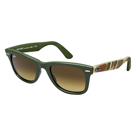Buy Ray-Ban RB2140 Original Wayfarer Urban Camouflage Sunglasses Online at johnlewis.com