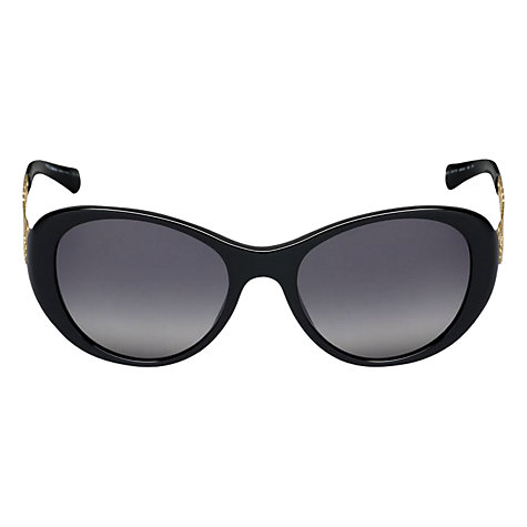 Buy Dolce & Gabbana DG4213 Cat's Eye Sunglasses, Black Online at johnlewis.com