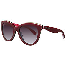 Buy Dolce & Gabbana DG4207 27668G Cat's Eye Acetate Framed Sunglasses, Fuxia Online at johnlewis.com