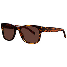 Buy Burberry BE4149 341173 D-Framed Acetate Sunglasses, Brown Online at johnlewis.com