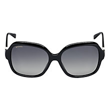 Buy Bvlgari BV8124B 501/T3 Square Sunglasses, Black Online at johnlewis.com