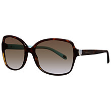 Buy Tiffany & Co TF4085H Rectangular Sunglasses Online at johnlewis.com