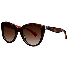 Buy Dolce & Gabbana DG4207 276513 Cat's Eye Sunglasses, Orange Online at johnlewis.com