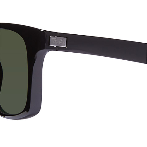 Buy Ray-Ban RB4197 601/9A Polarised Sunglasses, Black Online at johnlewis.com