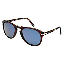 Buy Persol PO0714SM 24/56 Suprema Folding Acetate Framed Sunglasses, Dark Havana Online at johnlewis.com