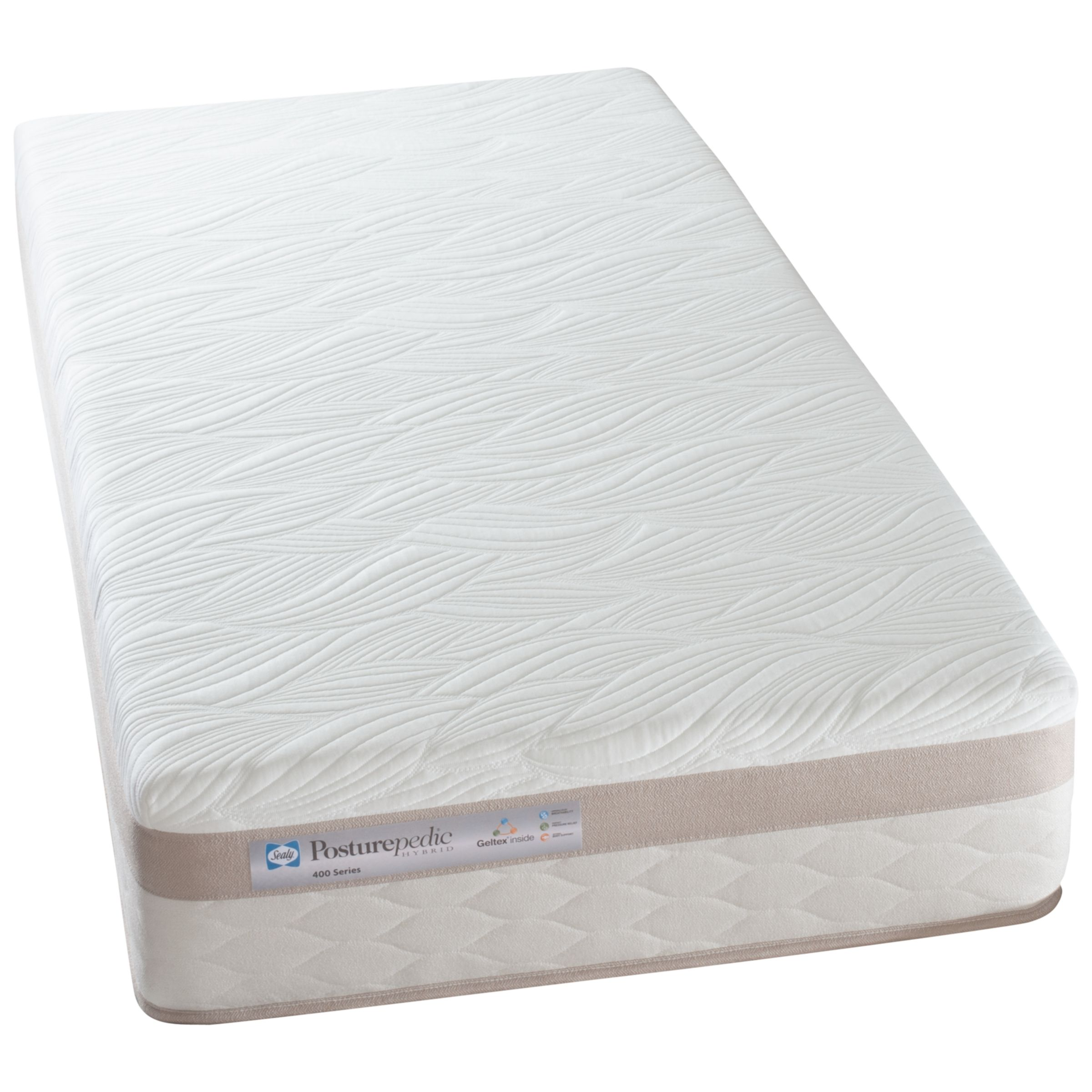 Sealy Posturepedic Hybrid Series 400 Mattress, Single