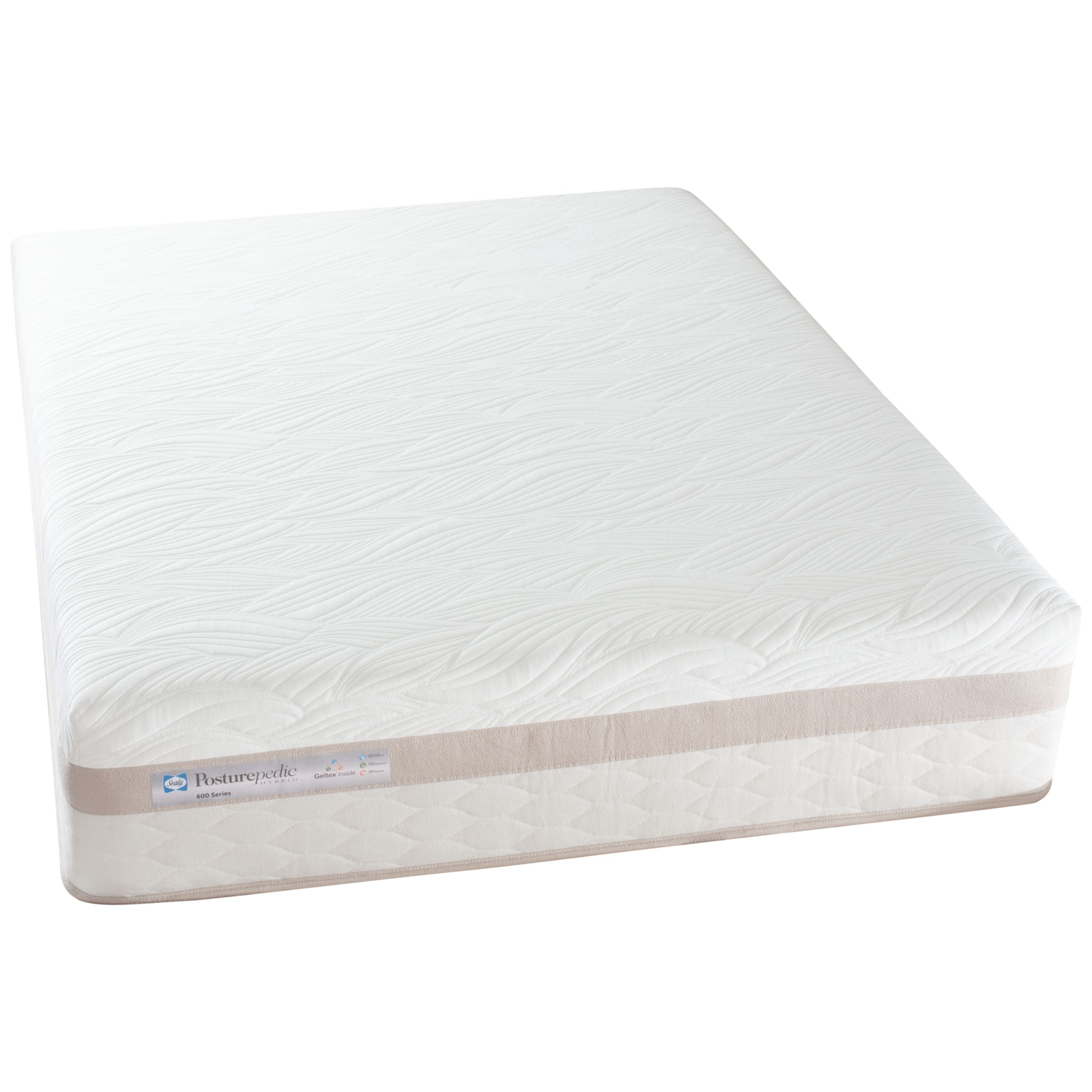Sealy Posturepedic Hybrid Series 600 Mattress, Double