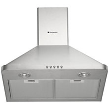 Buy Hotpoint HHP6.5CM Chimney Cooker Hood Online at johnlewis.com