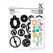 Buy Docrafts Sew Lovely Button Dies, 15pcs Online at johnlewis.com