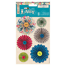 Buy Docrafts Sew Lovely Pin Wheels, 6pcs Online at johnlewis.com