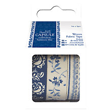 Buy Docrafts Paris 1m Fabric Tape, Pack of 3 Online at johnlewis.com