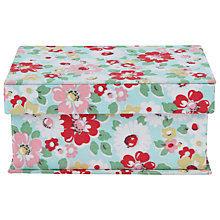 Buy Cath Kidston Fabric Covered Box, Multi Online at johnlewis.com
