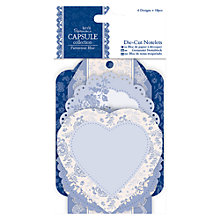 Buy Docrafts Paris Die Cut Notelets, 18pcs Online at johnlewis.com