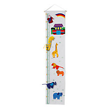 Buy Oskar & Ellen Noah's Ark Height Chart Online at johnlewis.com