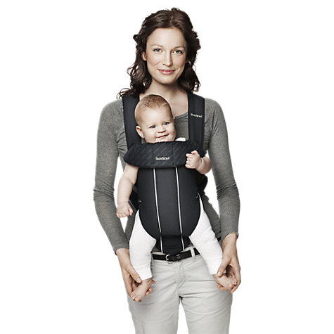 Buy BabyBjörn Original Baby Carrier, Black Pinstripe Online at johnlewis.com