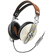 Buy Sennheiser Momentum Full Size Headphones with Microphone Online at johnlewis.com