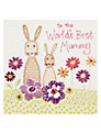 Blue Eyed Sun World's Best Mummy Mother's Day Card