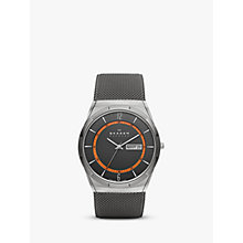 Buy Skagen SKW6007 Aktiv Men's Titanium Mesh Bracelet Strap Watch, Grey Online at johnlewis.com