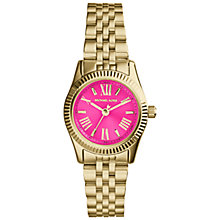 Buy Michael Kors Women's Lexington Mini Steel Bracelet Strap Watch Online at johnlewis.com