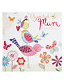 Hammond Gower Birds and Butterflies Mother's Day Card