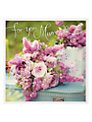 Woodmansterne Purple Flowers Mother's Day Card