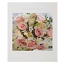 Buy Woodmansterne Bouquet Wedding Card Online at johnlewis.com
