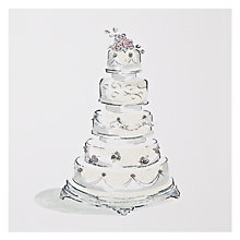 Buy Art Beat The Cake Wedding Card Online at johnlewis.com
