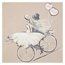 Buy Art Beat Just Married Greeting Card Online at johnlewis.com