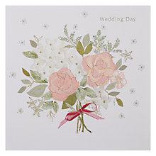 Buy Black Olive Wedding Posy Greeting Card Online at johnlewis.com