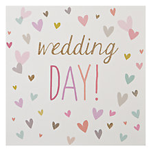 Buy Woodmansterne Heart Wedding Card Online at johnlewis.com