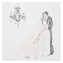 Buy Art Beat Kiss the Bride Wedding Card Online at johnlewis.com