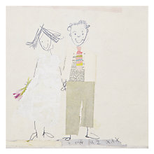 Buy Art Press Wedding Card Online at johnlewis.com