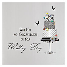 Buy Five Dollar Shake With Love and Congratulations On Your Wedding Day Greeting Card Online at johnlewis.com