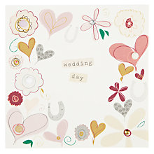 Buy Belly Button Designs Wedding Day Card Online at johnlewis.com
