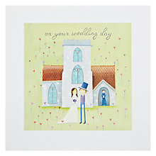 Buy James Ellis Stevens Wedding Church Square Gems Greeting Card Online at johnlewis.com