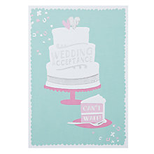 Buy Hotchpotch Wedding Acceptance Greeting Card Online at johnlewis.com