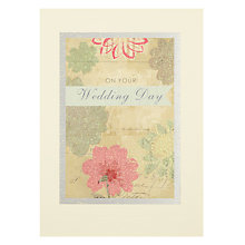 Buy James Ellis Stevens Blue Ribbon Wedding Layers Greeting Card Online at johnlewis.com