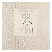 Buy Woodmansterne Felicitations Wedding Card Online at johnlewis.com