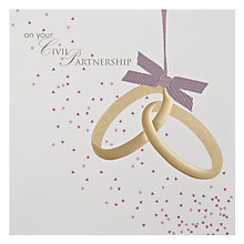 Buy Woodmansterne Tying The Knot Greeting Card Online at johnlewis.com
