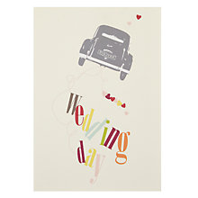 Buy Card Mix Wedding Day Card Online at johnlewis.com