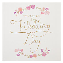 Buy Woodmansterne Wedding Card Online at johnlewis.com