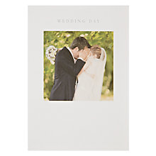 Buy Woodmansterne Wedding Day Card Online at johnlewis.com