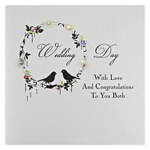 Buy Five Dollar Shake Wedding Day - With Love and Congratulations To You Both Greeting Card Online at johnlewis.com