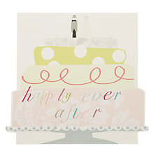 Buy Caroline Gardner Wedding Cake Greeting Card Online at johnlewis.com