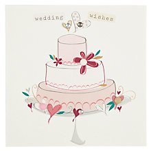 Buy Belly Button Designs Wedding Wishes Greeting Card Online at johnlewis.com