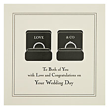 Buy Five Dollar Shake To Both of You... On Your Wedding Day Greeting Card Online at johnlewis.com