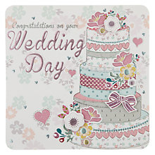 Buy Laura Darrington Congratulations on Your Wedding Day Greeting Card Online at johnlewis.com