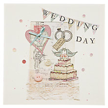 Buy Mint Wedding Cake Greeting Card Online at johnlewis.com