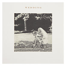 Buy Susan O Hanlon Kids On Tricycle Wedding Greeting Card Online at johnlewis.com
